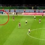 サッカーの試合中に心霊現象?ピッチを走る幽霊を目撃!【動画あり】